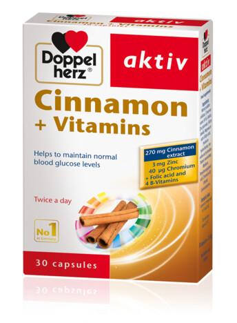 Doppelherz Cinnamon + Vitamins