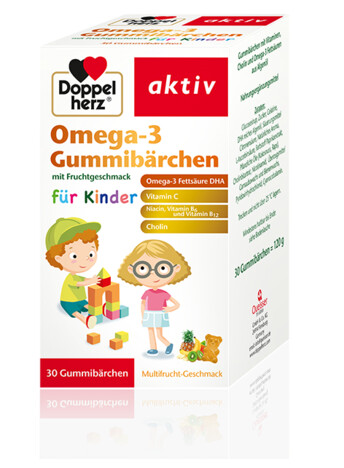 Doppelherz Omega-3 Gummibärchen (eng)