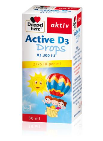 Doppelherz Active D3 drops (eng)