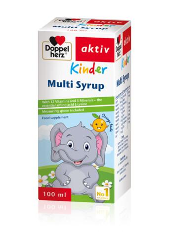 Doppelherz Multi Syrup Kinder (eng)