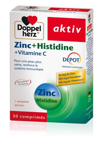 Doppelherz Zinc + Histidine (fr)