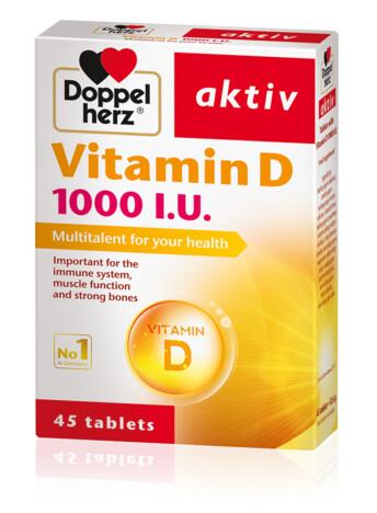 Doppelherz Vitamin D 1000 I.U.