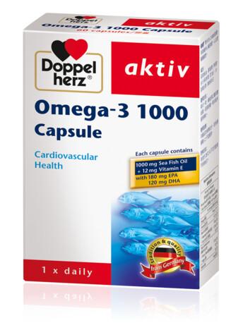 Doppelherz Omega-3 1000 Capsule (eng)