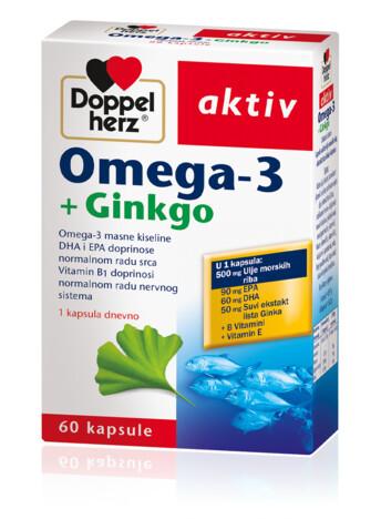 Doppelherz Omega-3 + Gingko
