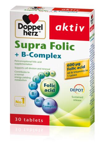 Doppelherz Supra Folic + B-Komplex  (eng)