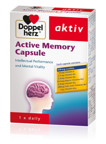 Doppelherz Active Memory Capsule (eng)