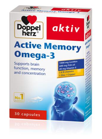 Doppelherz Active Memory Omega-3 (eng)